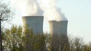 Stock Video Footage of Nuclear Power Towers Three Mile Island