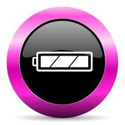 web glossy pushbutton - stock illustration