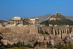 acropolis, athens - stock photo