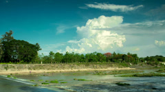 Ping river with cloud and sky.mp4 Stock Footage
