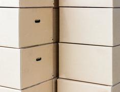 Brown box Stock Photos