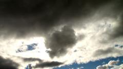 Cloudscape (time lapse) Stock Footage