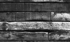 Railroad Tie Wall Stock Photos