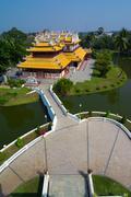 bang pa-in, royal palace, thailand - stock photo
