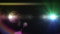 Rainbow Colors Transition - stock footage