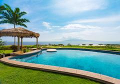 Stock Photo of luxury home with swimming pool