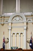 former melbourne magistrates' court - stock photo