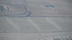Wind turbines, wind power, renewable energy, green energy Stock Footage