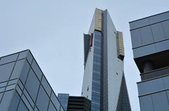 eureka tower - melbourne - stock photo