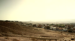Yeruham, Negev Desert, Israel 2 Stock Footage