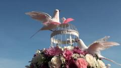 Wedding arrangements clip 4 of 4 Stock Footage