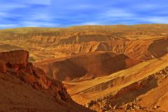 Hills and mountains in arava desert. Stock Photos
