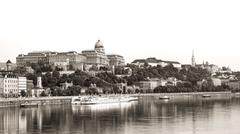 Royal Palace, Budapest Stock Photos