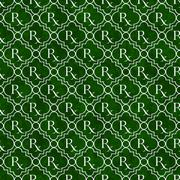 green and white prescription symbol pattern repeat background - stock illustration