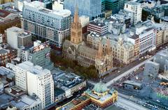 St paul's cathedral - melbourne Stock Photos