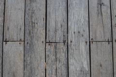 Stock Photo of big brown wood plank wall