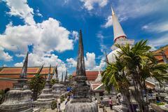 Wat phra mahathat woramahawihan nakorsrithammarat thailand Stock Photos