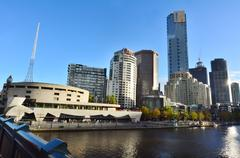 Melbourne southbank - victoria Kuvituskuvat