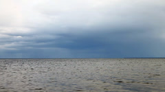 Calm in gulf of Riga, Baltic sea. Stock Footage