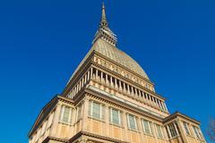 Mole Antonelliana, Turin - stock photo