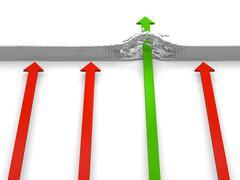Power to advance Stock Illustration
