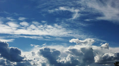 Moving clouds during daytime (HD Timelapse) | 01 - stock footage