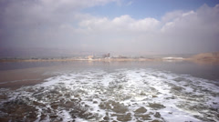 Dead Sea Factories Stock Footage