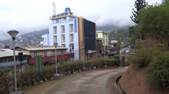 Exit from the world war symmetry, Kohima, Nagaland, north-east India Stock Footage