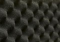 acoustic foam - stock photo