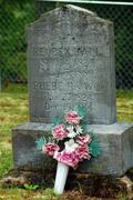 Old Headstone - stock photo