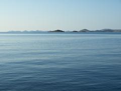 islands of kornati - stock photo