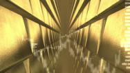 Stock Video Footage of Financial background with golden bullion.