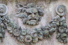 Gargoyle.palace of aranjuez, madrid, spain Stock Photos
