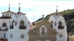 Catholic church Basilica of Candelaria located in Candelaria, Tenerife Stock Footage