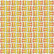 Stock Illustration of indian fabric pattern