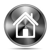 Home icon Stock Illustration
