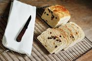 Raisin bread Stock Photos