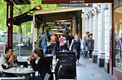 Lygon street -  melbourne Stock Photos