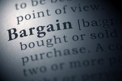 Stock Photo of bargain
