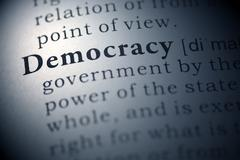 democracy - stock photo