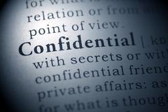 Confidential Stock Photos