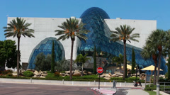 Innovative Dali Museum in St. Petersburg, FL - stock footage