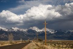 Sangre de Cristo Mountains in Colorado - stock photo