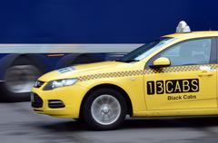 13cabs melbourne australia Stock Photos
