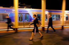 Metro junat melbourne Kuvituskuvat
