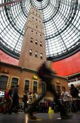 Melbourne central shopping centre Stock Photos