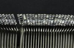 Stock Photo of typewriter character x