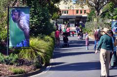 The royal melbourne zoological gardens zoo Stock Photos