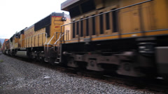 Freight train 1 Stock Footage