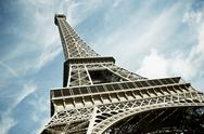 Stock Photo of eiffel tower